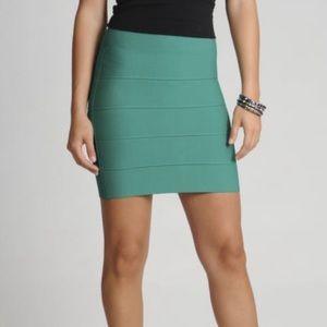 BCBGMAXAZRIA SImone Bandage Skirt XS